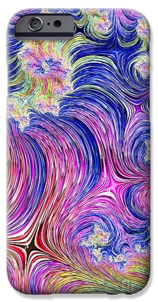 Fractal iPhone Cases - Vincent iPhone Case by John Edwards