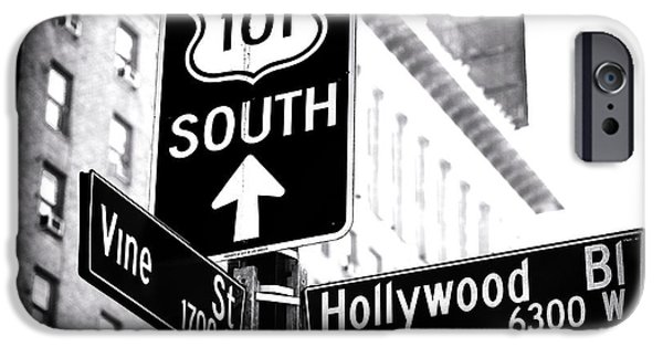 Foto iPhone Cases - Vine and Hollywood iPhone Case by John Rizzuto