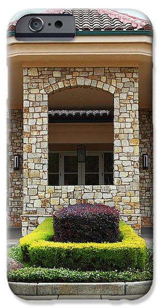 Vineyard Creek Hyatt Hotel Santa Rosa California 5D25792 iPhone Case by Wingsdomain Art and Photography