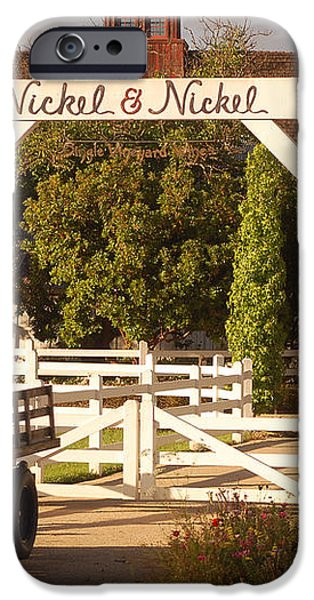 Vineyard Trucking iPhone Case by Holly Blunkall