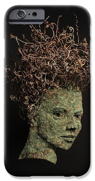 Relief Sculpture Reliefs iPhone Cases - Vino iPhone Case by Adam Long
