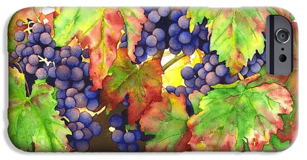 Malbec iPhone Cases - Vinous iPhone Case by TR O