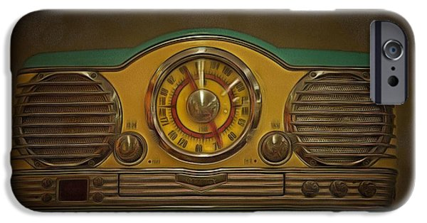 Recently Sold -  - Electrical iPhone Cases - Vintage AM FM Memorex Radio  iPhone Case by L Wright