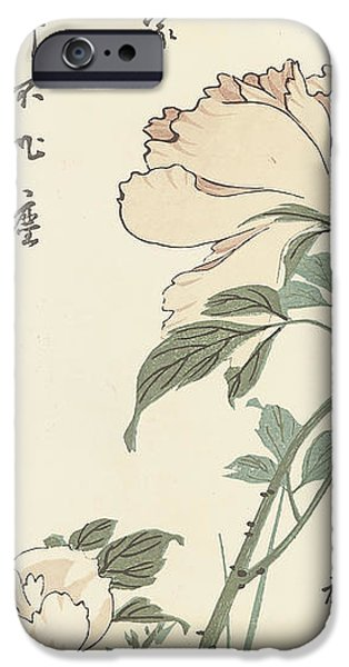 Tree Art Print iPhone Cases - Vintage Asian Blossoms-B iPhone Case by Jean Plout