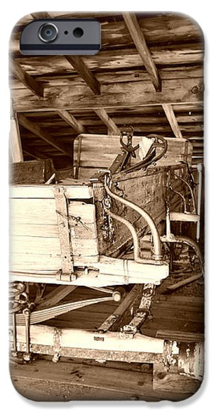 Vintage Barn Finds iPhone Case by Cheryl Young