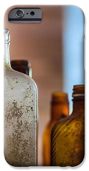 Vintage Bottles iPhone Case by Adam Romanowicz