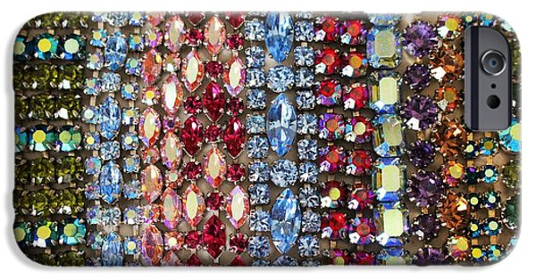 Vintage Jewelry iPhone Cases - Vintage Bracelets iPhone Case by Peggy Davis
