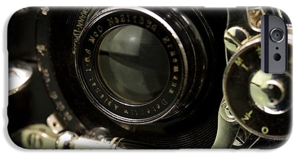Copy Machine iPhone Cases - Vintage Camera iPhone Case by Toppart Sweden