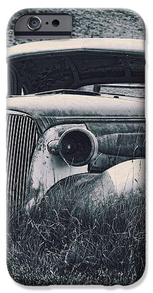 Vintage Car at Bodie iPhone Case by Kelley King