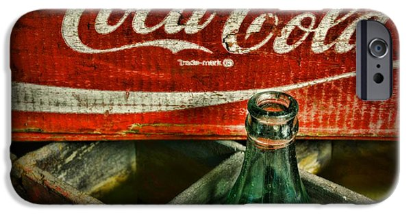 Crate iPhone Cases - Vintage Coca-Cola iPhone Case by Paul Ward