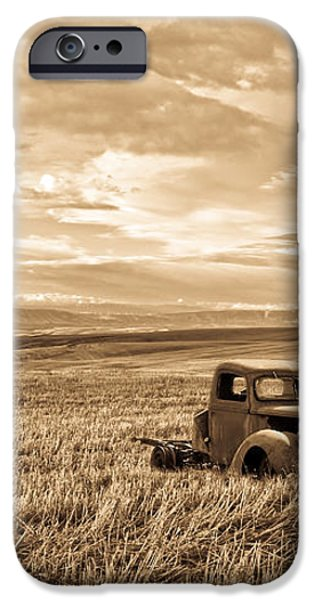 Vintage Days Gone By iPhone Case by Steve McKinzie
