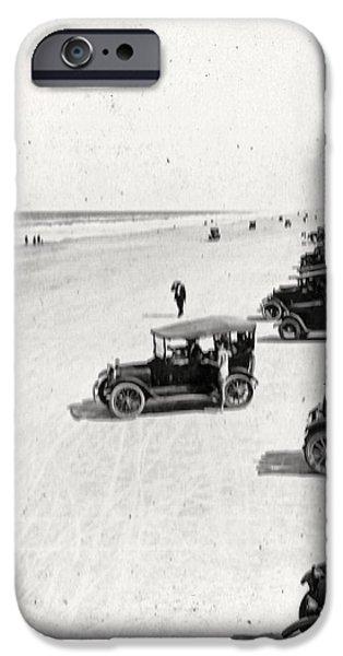 Vintage Daytona Beach Florida iPhone Case by unknown