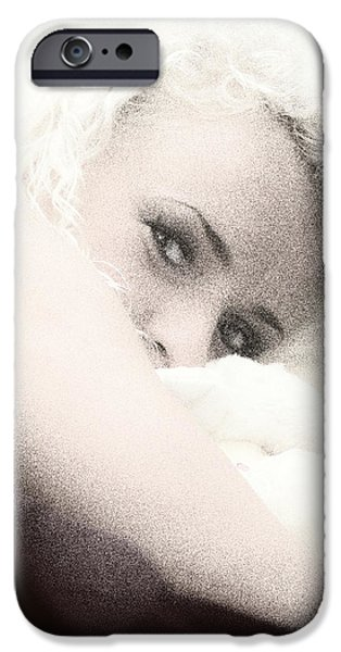vintage eyes iPhone Case by Stylianos Kleanthous