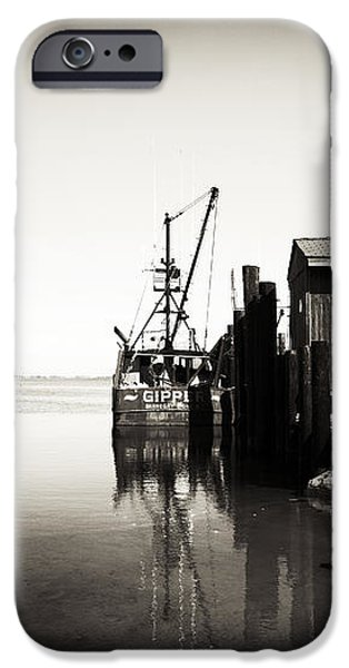 Vintage LBI Bay iPhone Case by John Rizzuto