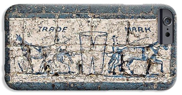 Levi iPhone Cases - Vintage Levis Advertisement iPhone Case by Benanne Stiens