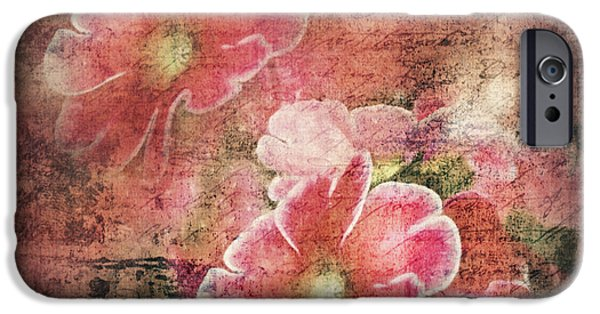 Poetic Mixed Media iPhone Cases - Vintage Love Letter iPhone Case by Georgiana Romanovna