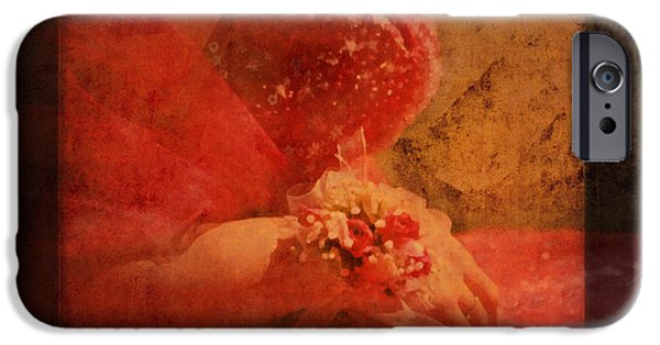 First Love iPhone Cases - Vintage Memories Of First Love iPhone Case by Georgiana Romanovna
