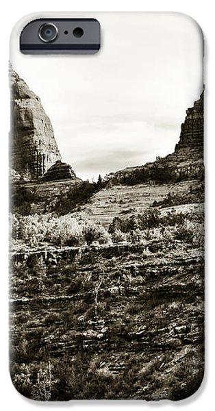 Vintage Oak Creek Canyon iPhone Case by John Rizzuto
