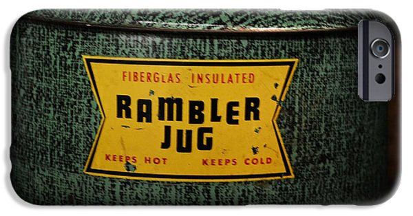 Finds A Way iPhone Cases - Vintage Rambler Insulated Jug iPhone Case by JW Hanley