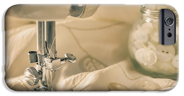 Sewing iPhone Cases - Vintage Sewing iPhone Case by Amanda And Christopher Elwell