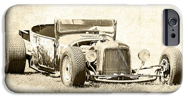1927 Ford Roadster iPhone Cases - Vintage T Bucket Ford iPhone Case by Steve McKinzie