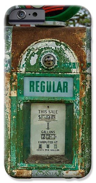 Rust iPhone Cases - Vintage Texaco Gas Pump iPhone Case by Paul Freidlund
