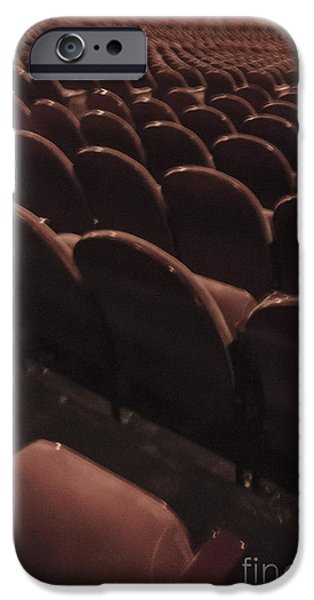 Vintage Theater iPhone Case by Margie Hurwich