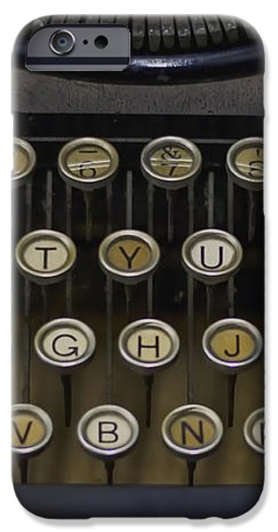 Vintage Typology iPhone Case by Heather Applegate