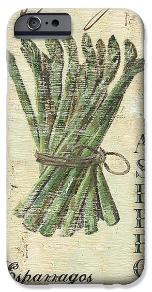 Recently Sold -  - Antiques iPhone Cases - Vintage Vegetables 1 iPhone Case by Debbie DeWitt