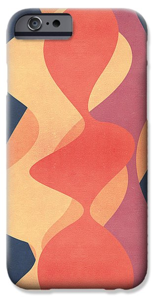 Abstracts iPhone Cases - Vintage iPhone Case by VessDSign