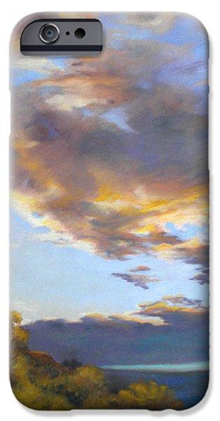 Vinuela sunset iPhone Case by Heather Harman
