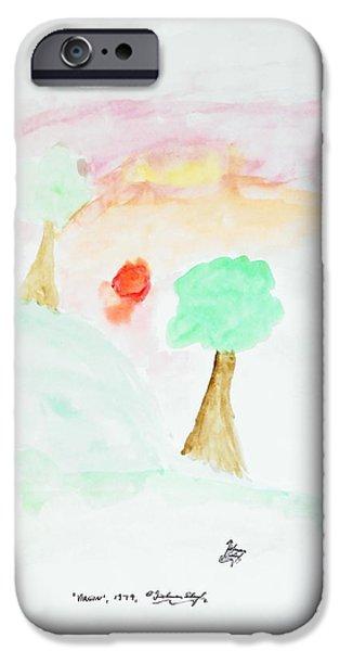 Innocence Pastels iPhone Cases - Virgin iPhone Case by Dietmar Scherf