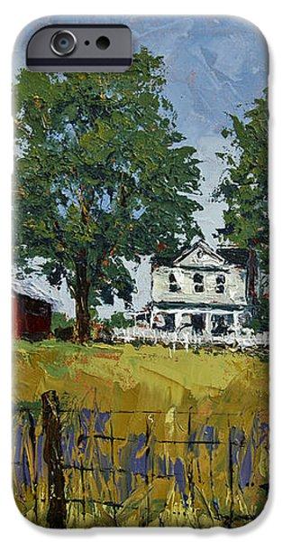 Virginia Highlands Farm iPhone Case by Peter Muzyka