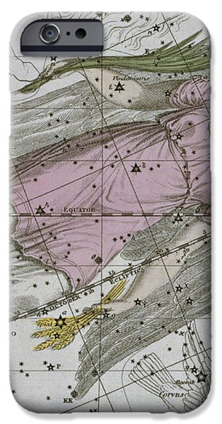 Virgo from A Celestial Atlas iPhone Case by A Jamieson