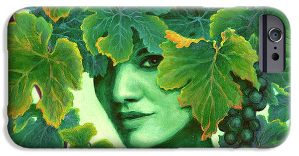 Seductive iPhone Cases - Virtue in the Vines iPhone Case by Sandi Whetzel
