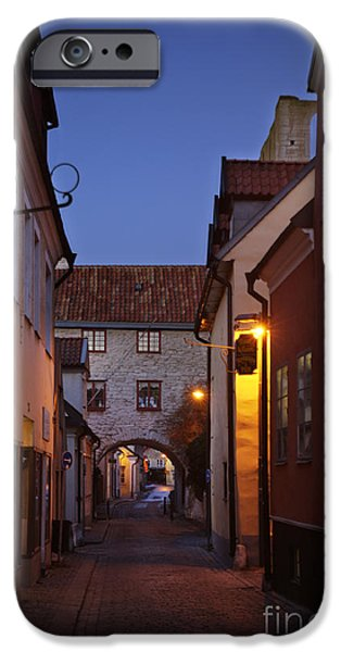 Mystifying iPhone Cases - Visby Evening  iPhone Case by Ladi  Kirn