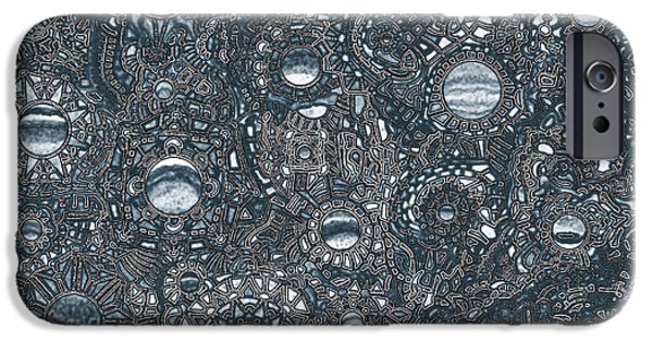 Opposing Forces iPhone Cases - Viscosity variation 10 iPhone Case by Devin  Cogger