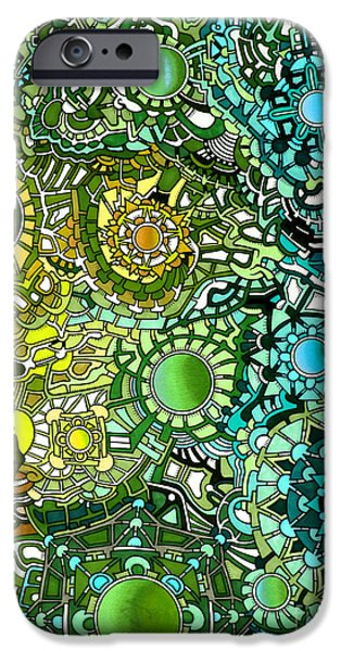 Opposing Forces iPhone Cases - Viscosity variation 18 iPhone Case by Devin  Cogger