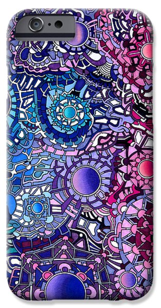 Opposing Forces iPhone Cases - Viscosity variation 19 iPhone Case by Devin  Cogger