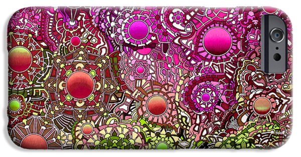 Opposing Forces iPhone Cases - Viscosity variation 3 iPhone Case by Devin  Cogger