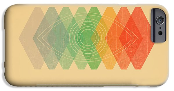 Color iPhone Cases - Visible Spectrum iPhone Case by Budi Kwan
