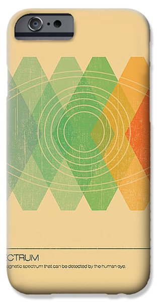Visible Spectrum iPhone Case by Budi Satria Kwan