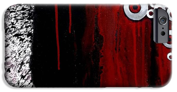 The Void iPhone Cases - Vision From Beyond IV iPhone Case by Tom Carlton