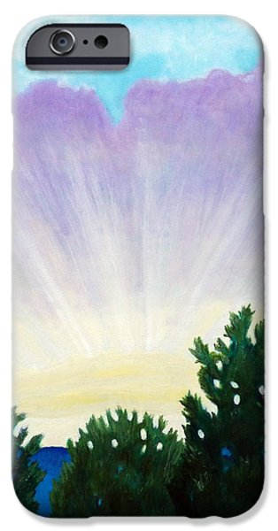Visionary Sky iPhone Case by Brian  Commerford