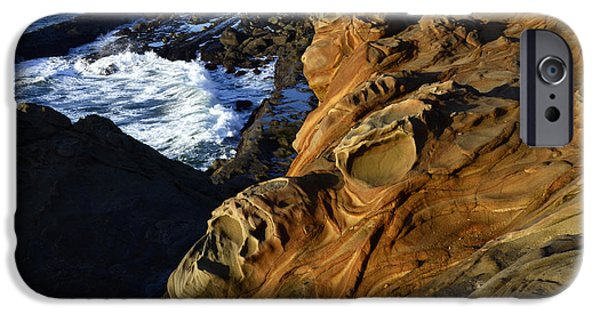 Surreal Landscape Photographs iPhone Cases - Visions Of Nature 5 iPhone Case by Bob Christopher