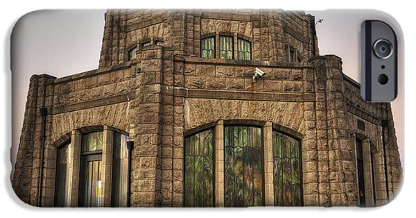 Vistas iPhone Cases - Vista House iPhone Case by Mark Kiver