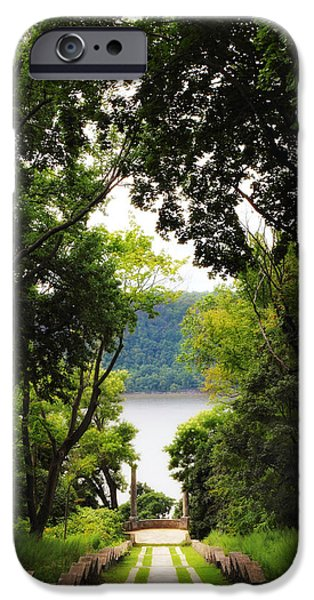Hudson River Digital iPhone Cases - Vista View iPhone Case by Jessica Jenney