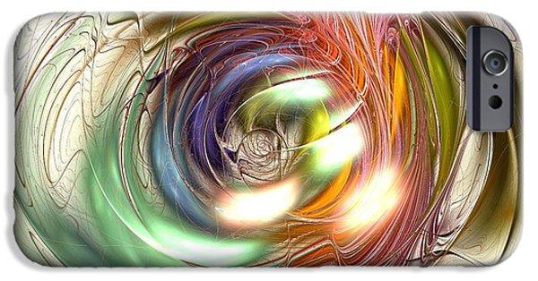 Psychedelic iPhone Cases - Vivid Vision iPhone Case by Anastasiya Malakhova