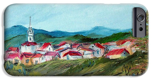 Recently Sold -  - Village iPhone Cases - Vladeni Ardeal - Village in Transylvania iPhone Case by Dorothy Maier