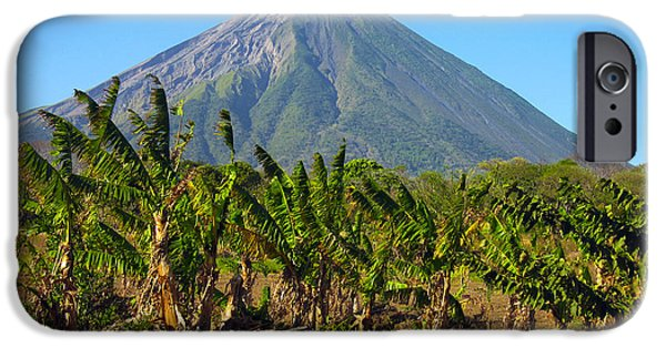 Chaco iPhone Cases - Volcan Concepcion Nicaragua iPhone Case by Kurt Van Wagner